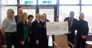 Donation to The Grocott Centre
